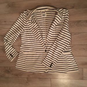 Old Navy Jackets & Coats - Soft navy stripe blazer